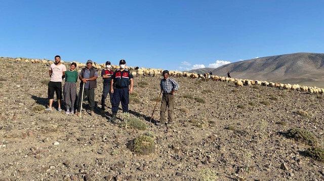 Drone'ler çobanların kurtarıcısı oldu: Kaybolan 300 koyunluk sürüyü buldu