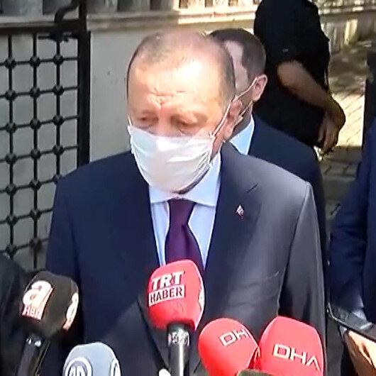 Cumhurbaşkanı Erdoğandan kurban bayramı öncesi önemli açıklama