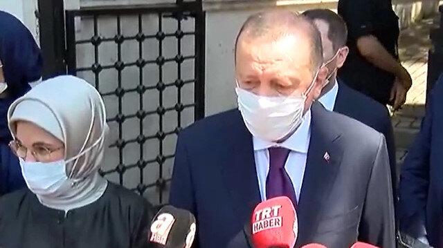 Cumhurbaşkanı Erdoğan'dan kurban bayramı öncesi önemli açıklama