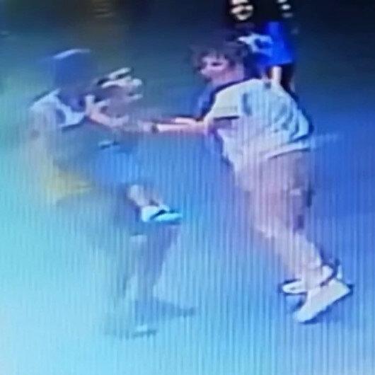 Antalyada çocuk kaçırma girişimi güvenlik kameralarına böyle yansıdı