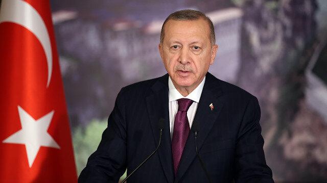 Cumhurbaşkanı Erdoğan: Milletimizin Anadolu'daki varlığını kabullenemeyenler Ayasofya üzerinden kin kustular