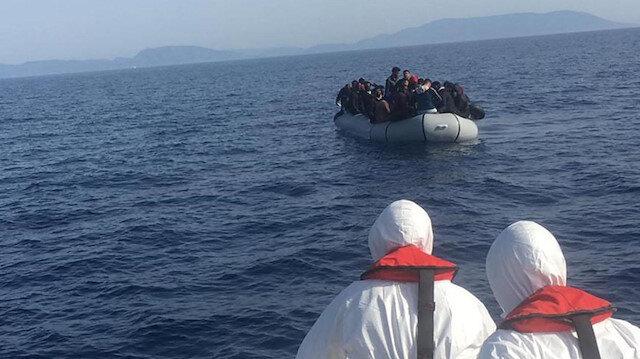 43 sığınmacıyı Yunanistan itti Türkiye kurtardı
