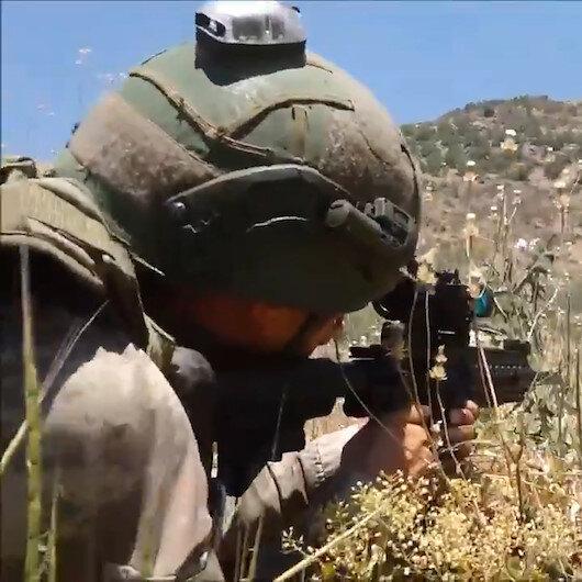 Pençe Kaplan operasyonunda 3 PKKlı terörist etkisiz hale getirildi: MSB operasyondan görüntü yayınladı