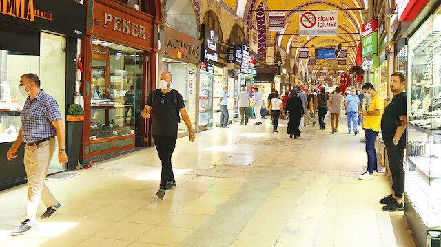 Esnafın gözü yollarda: Yeni Şafak, Kapalıçarşı ve Mısır Çarşısında nabız tuttu