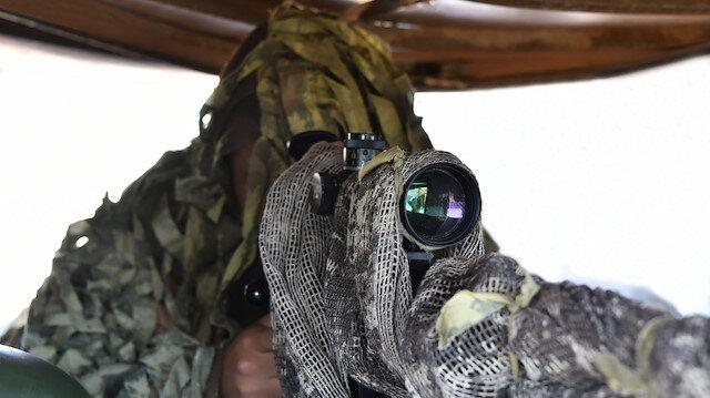 Zeytin Dalı bölgesinde 2, Fırat Kalkanı bölgesinde bir terörist yakalandı