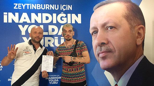 Ayasofya'nın açılmasıyla ilgili yorumlarıyla çok konuşulan dövmeli genç artık AK Partili
