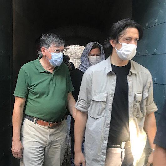 ABDnin Ankara Büyükelçisi Satterfield, Ayasofya-i Kebir Cami-i Şerifini ziyaret etti