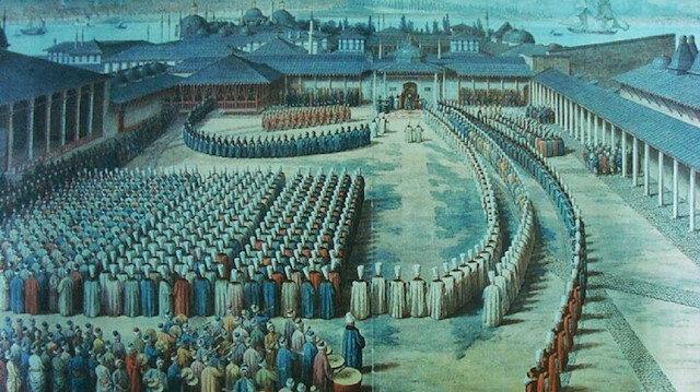 Osmanlıda bayram merasimleri: Muayede Alayı