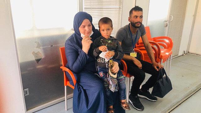 Bakan Soylu'nun devreye girmesiyle  Suriyeli minik Ahmed annesine kavuştu