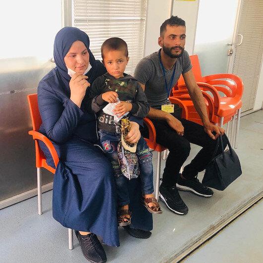 Bakan Soylunun devreye girmesiyle  Suriyeli minik Ahmed annesine kavuştu