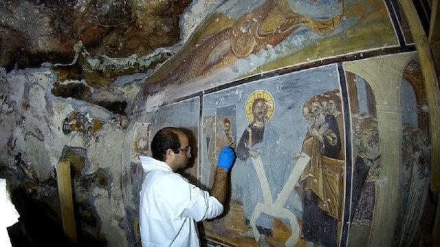 Sümela Manastırı ziyarete açıldı: 5 yıllık restorasyon serüveni böyle görüntülendi