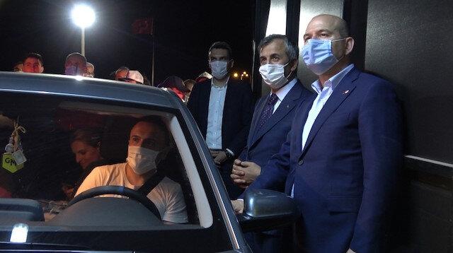 İçişleri Bakanı Soylu trafik denetimine katıldı: Bayram boyunca 163 bin polis ve jandarma görev yapacak