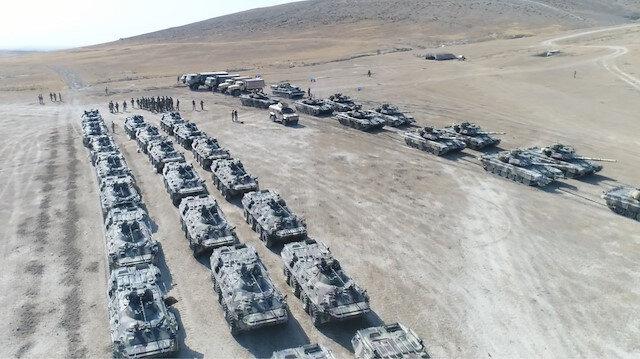 Milli Savunma Bakanlığı görüntüleri paylaştı: Türkiye ve Azerbaycan'ın geniş kapsamlı ortak askeri tatbikatı sürüyor