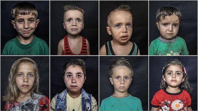 İdlib'de gönüllü kuaförlerden bayram öncesi çocuklara hediye