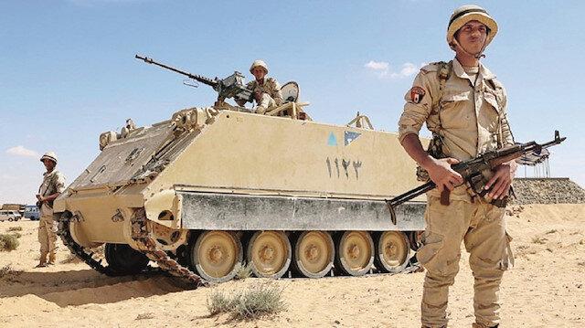 Mısır Suriye'ye asker gönderdi