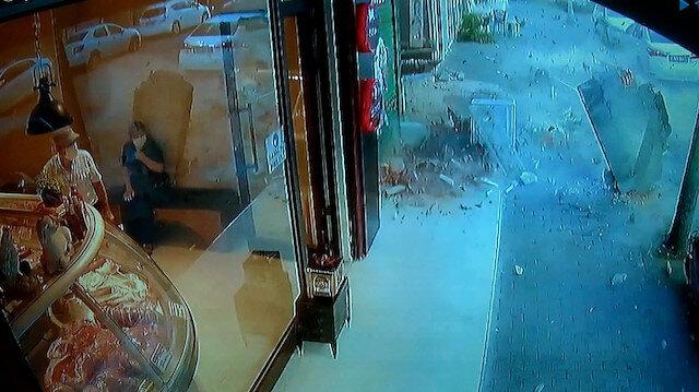 Küçükçekmece'de beş katlı binanın iki balkonu çöktü, facianın eşiğinden dönüldü