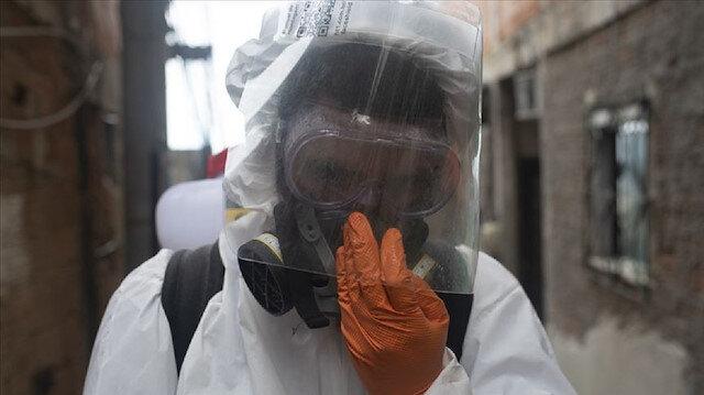 Yeni tip koronavirüs nedeniyle Brezilya'da 1129, Meksika'da 639, Hindistan'da 779 kişi hayatını kaybetti