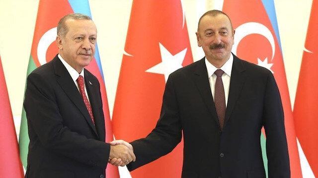 Cumhurbaşkanı Erdoğan ve Azerbaycan Cumhurbaşkanı İlham Aliyev ile telefonda görüştü