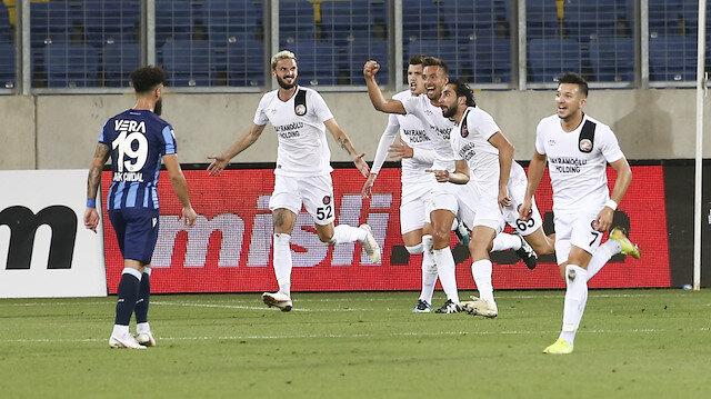 Süper Lig'in 21. takımı Fatih Karagümrük oldu