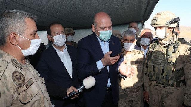 Cumhurbaşkanı Erdoğan, Cudi Dağı'ndaki Nuh Peygamber üs bölgesindeki askerlerin bayramını kutladı