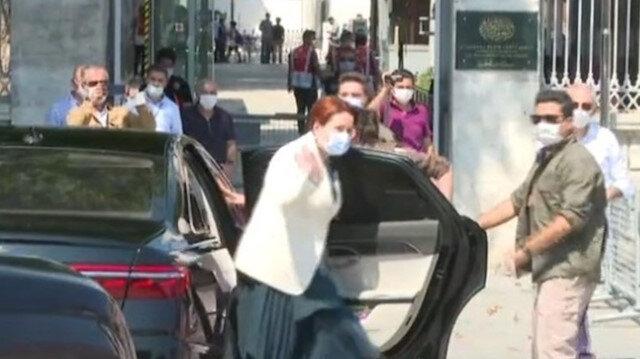 İYİ Parti lideri Akşener, Ayasofya'yı ziyaret etti