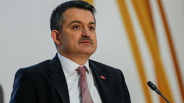 Tarım ve Orman Bakanı Pakdemirli: Gıda denetimlerinde 7 ayda 63 milyon lira ceza uygulandı
