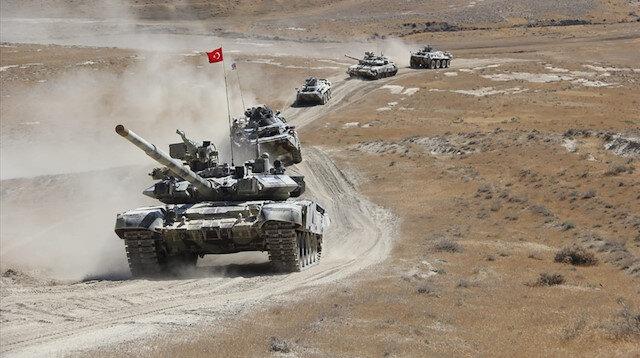 Türkiye ve Azerbaycan ortak tatbikatından yeni görüntüler