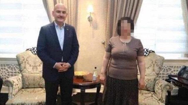 Bakan Soylu, HDP'li Tuma Çelik'in istismarına uğrayan kadını dinledi