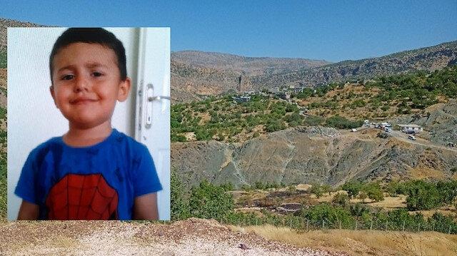 Diyarbakır'da 4 yaşındaki Miraç Çiçek evlerinin önünde oynarken kayboldu