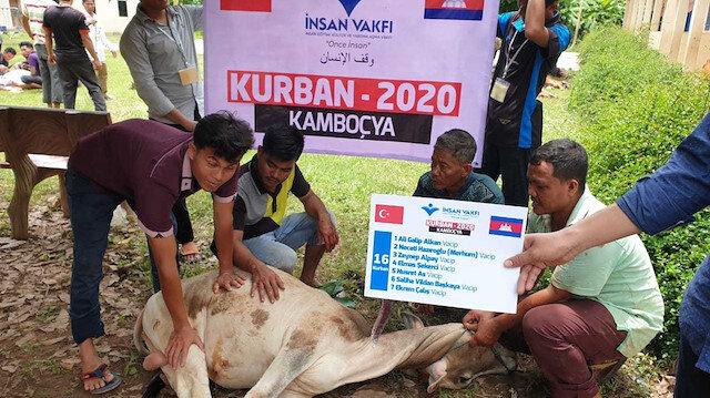 İnsan Vakfı Türkiye, Asya ve Afrika'da 50 bin kişiye kurban eti ulaştırıyor
