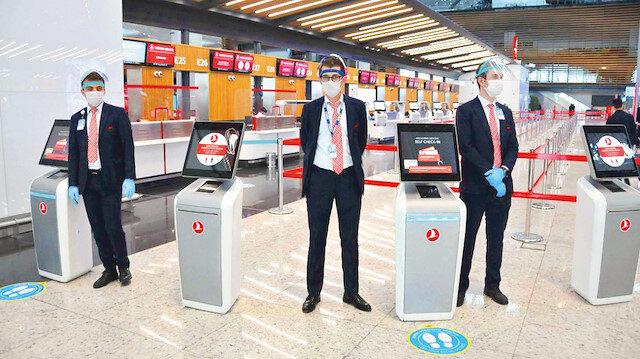 İstanbul Havalimanı cazip hale geldi: Sosyal mesafeye uyulması yolcular için tercih nedeni oldu