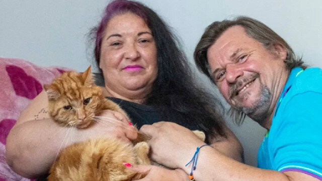 Sosyal medya bu kediyi konuşuyor: Eski sahiplerini bulmak için yedi hafta boyunca kilometrelerce yol gitti