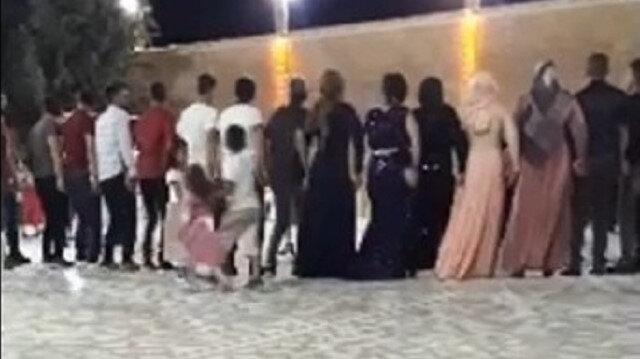 Mardin'de maskesiz, sosyal mesafesiz halay koronavirüse davetiye çıkardı