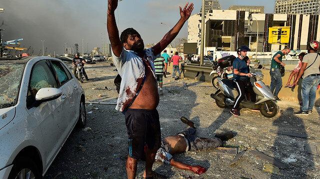 Lübnan Sağlık Bakanlığı korkunç bilançoyu açıkladı: Beyrut Limanı'ndaki patlamada 63 kişi öldü, 2 bin 700 kişi yaralandı