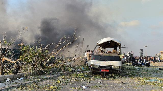 Beyrut'ta neler oluyor? Patlama neden oldu?