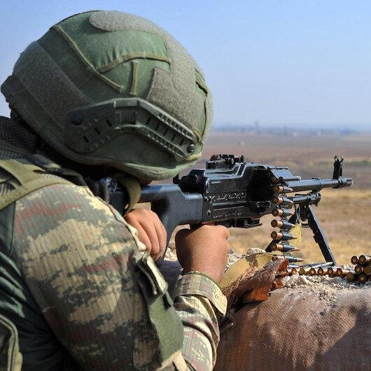 Barış Pınarı bölgesinde bir PKK'lı terörist daha etkisiz hale getirildi