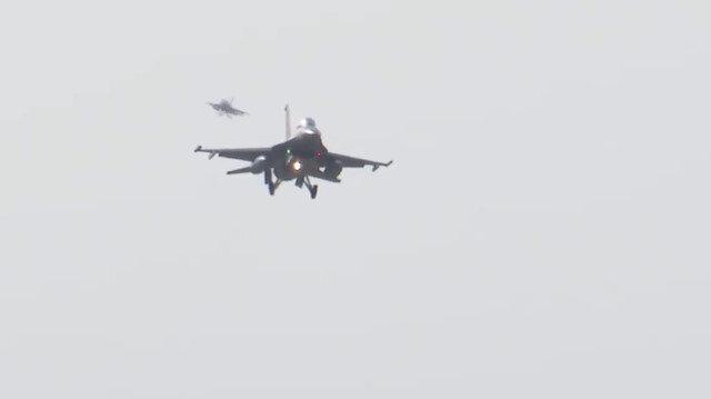 Milli Savunma Bakanlığı: TurAz Kartalı Tatbikatı'nda savaş uçaklarımız görevini başarıyla yerine getiriyor