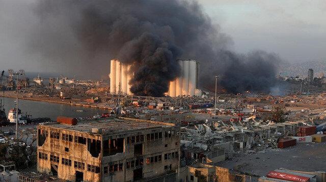 Beyrut'taki patlamada son durum: 100 kişi öldü, 4 binden fazla yaralı var