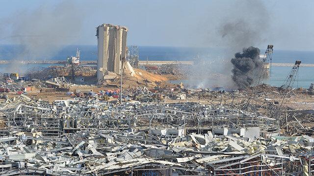 Lübnan, Beyrut Limanı'ndaki patlamanın şokunu yaşıyor
