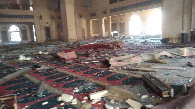 Lübnan'daki patlama Sultanahmet Camisi olarak da bilinen El Amin Camisi ve hastanelerde büyük hasara sebebiyet verdi