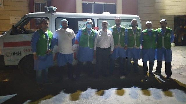 İHH Beyrut'ta yaraları sarmaya gönüllü oldu
