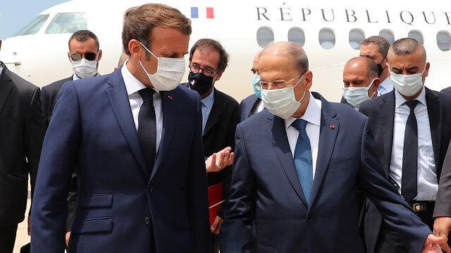 Fransa Cumhurbaşkanı Macron Beyrut'ta: Lübnan'a 'koşulsuz' yardım öncelikli olmalı