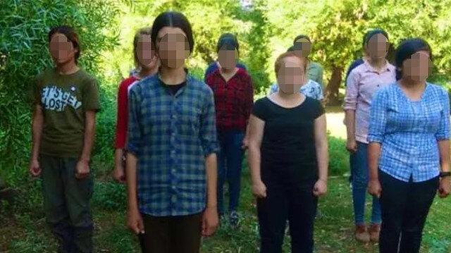 Terör örgütü PKK, 14 kız çocuğunu kandırıp dağa çıkardı