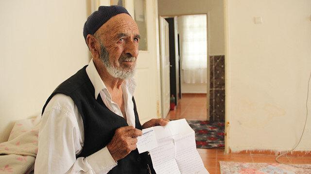 92 yaşında, evlilik vaadiyle 12 bin TL dolandırıldı