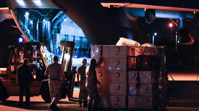 Türkiye'den Lübnan'a yardım eli: Ankara'dan kalkan uçak Beyrut'a indi