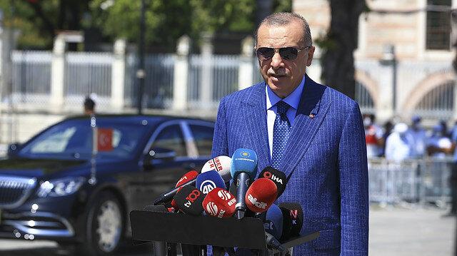 Cumhurbaşkanı Erdoğan'dan Bahçeli'nin Akşener'in davetine ilk yorum
