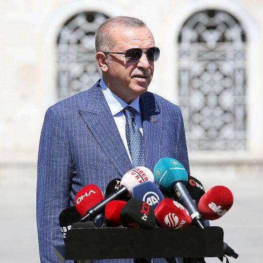 Bahçelinin Akşener daveti üzerine Cumhurbaşkanı Erdoğan: Birlik ve beraberliğin tesisine yönelik bir adım