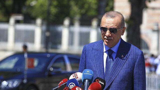 Cumhurbaşkanı Erdoğan, Bakan Albayrak'ı hedef alanlara tepki gösterdi