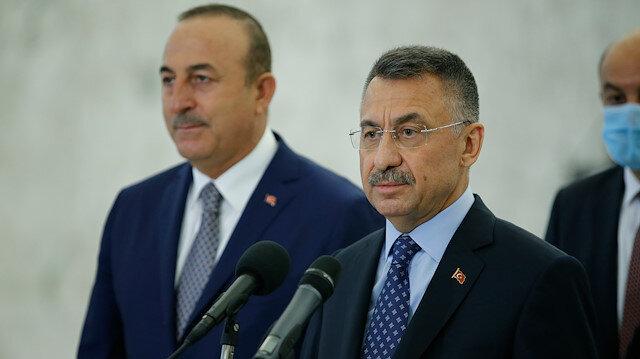 Cumhurbaşkanı Yardımcısı Oktay: Lübnanlı kardeşlerimize bir açık çek vermiş olduk