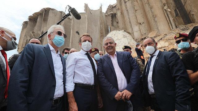 """Macron'a, Beyrut'ta """"sömürgeci söylem"""" kullanımı eleştirisi"""